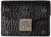 MCM Patricia Visetos Accordion Card Mini Wallet Wallet Handbags
