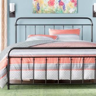 Andover Mills Matheney Platform Bed Size: Twin, Color: Matte Black
