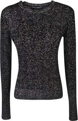 Dolce & Gabbana Glittery Long-sleeved Jumper