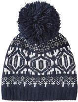 Joe Fresh Women's Fair Isle Knit Hat, JF Midnight Blue (Size O/S)