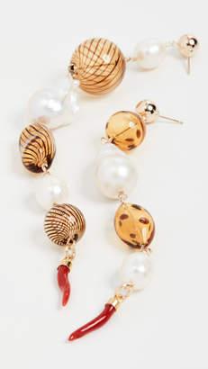 Bohemia Beck Jewels Shoulder Duster Earrings