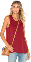 Joie Gemini Silk Tank in Red. - size XS (also in )