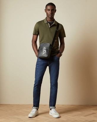 Ted Baker Ribbed Polo Top