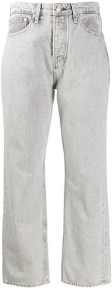 Rag & Bone Maya high-waisted straight-leg jeans