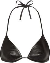 MM6 MAISON MARGIELA Leather bikini top