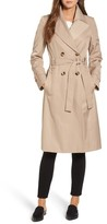 Via Spiga Women's Double Breasted Trench Coat
