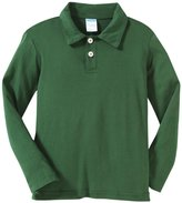 City Threads 2-Button Polo Shirt (Toddler/Kid) - Forest Green-3T