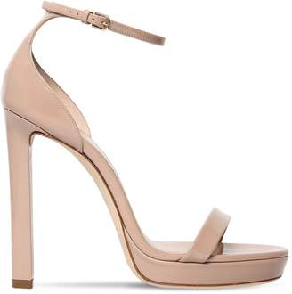 Saint Laurent 115mm Hall Patent Leather Sandals