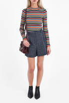 Rosetta Getty Striped Crew Neck Jumper