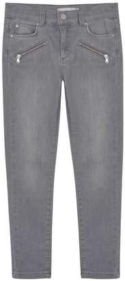 Mint Velvet Authentic Grey Biker Jean