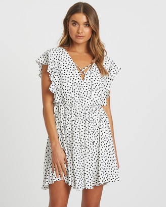 Tussah Sabrina Mini Dress