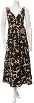 Hoss Intropia Printed Embellished Dress