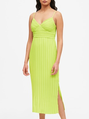 Banana Republic Plisse Midi Dress