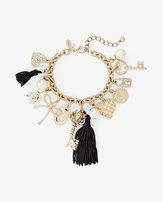 Express mixed charm bracelet