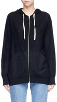 Vince Brushed cashmere zip hoodie