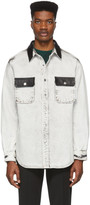 Alexander Wang White Denim Oversize Shirt