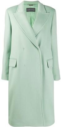 Alberta Ferretti Double-Breasted Wool Coat