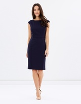 Forcast Justine Panel Shift Dress