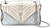 Saint Laurent 'Monogramme' quilted shoulder bag - women - Leather - One Size