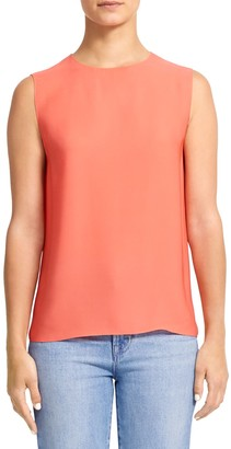 Theory Continuous Silk Shell Top