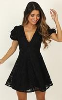 Showpo Hey Babe Dress In black lace - 6 (XS) Dresses
