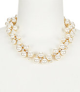 Anne Klein Pearl Collar Necklace