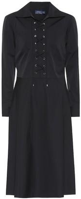 Polo Ralph Lauren Cotton lace-up dress