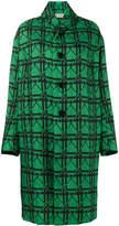 Marni oversized checked jacquard coat
