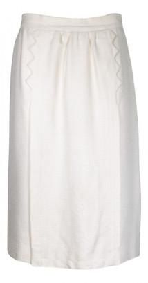 Hermes Beige Viscose Skirts