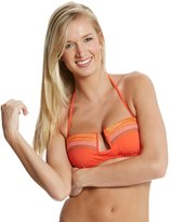 Nanette Lepore Mayan Riviera Tease Bandeau Bikini Top 8116906