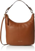 Michael Kors Women's Large Lupita Leather Hobo Bag Leather Shoulder Tote