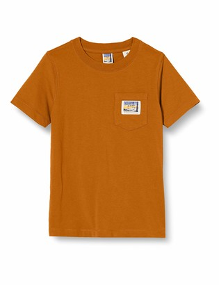 Scotch & Soda Boy's Short Sleeve Tee in Organic Cotton Quality with Pocket Shirt
