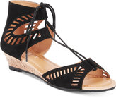 Esprit Carole Lace-Up Wedge Sandals