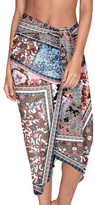Jets Poetic Placement Print Sarong