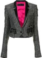 Haider Ackermann embellished cropped jacket