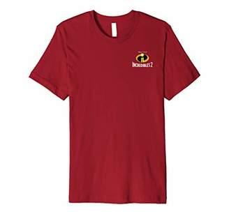 Disney Pixar Incibles 2 Pocket Logo Premium T-Shirt