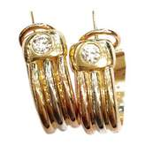 Cartier Trinity pink gold earrings