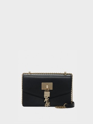 DKNY Elissa Small Pebbled Leather Shoulder Bag