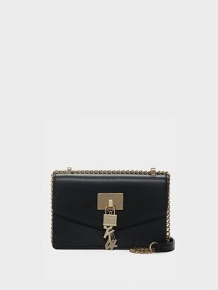 DKNY Elissa Small Pebbled Leather Shoulder Bag