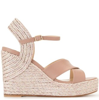 Jimmy Choo Dellena 100 wedge sandals