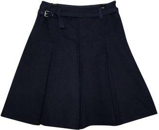 Max Mara Weekend Navy Cotton Skirt for Women