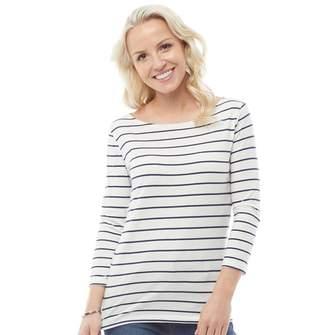 Crew Clothing Womens Cassie Stripe Top Van/Navy