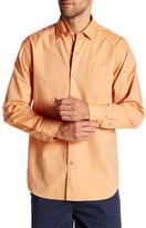 Tommy Bahama Regular Fit Dobby Del Sol Long Sleeve Shirt