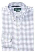 Lauren Ralph Lauren Classic-Fit Windowpane Cotton Dress Shirt