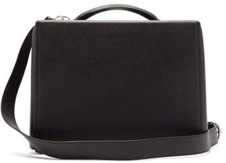 Mark Cross Grace Saffiano Leather Briefcase - Mens - Black
