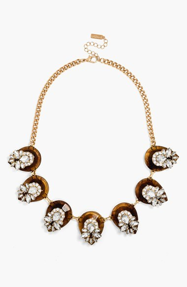 BaubleBar 'Clear Elizabeth' Collar Necklace
