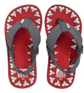 Reef Infant Boy's Ahi Glow In The Dark Flip Flop