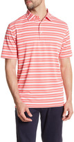 Peter Millar Sean Martin Stripe Mesh Polo Shirt