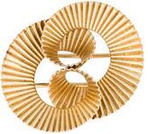 Tiffany & Co. 14K Textured Brooch