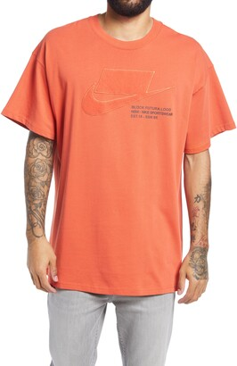 Nike Men's Oversize Embroidered T-Shirt